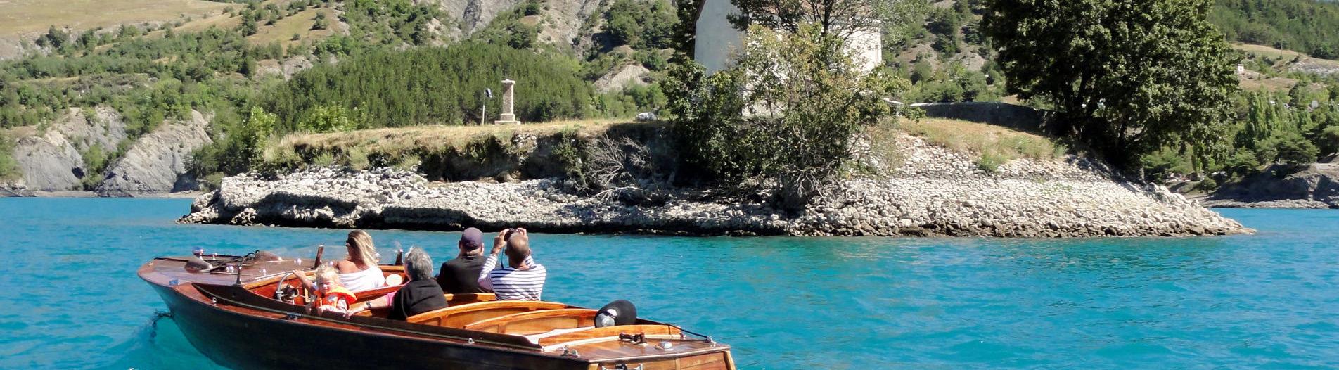 Visite sur l'eau