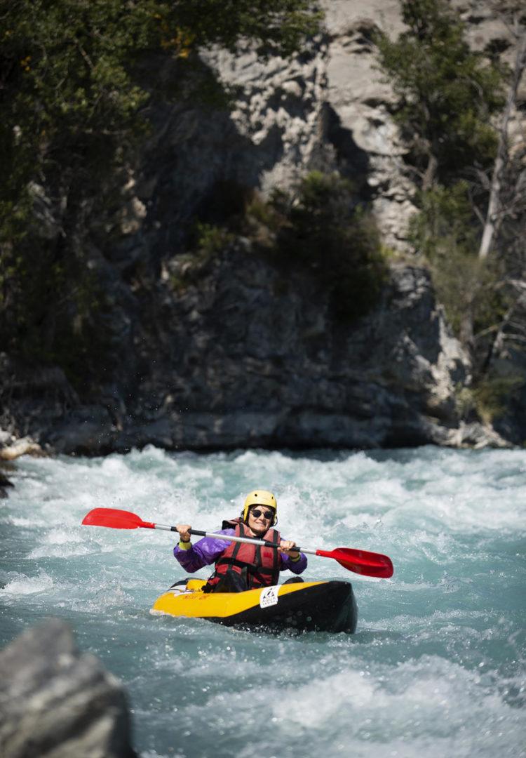 Serre-Poncon kayak