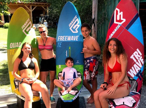 Spot windsurf, planche à voile, kitesurf, Foil