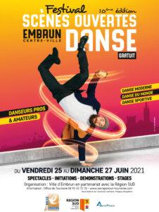 AFFICHE - Festival Scènes Ouvertes de danse